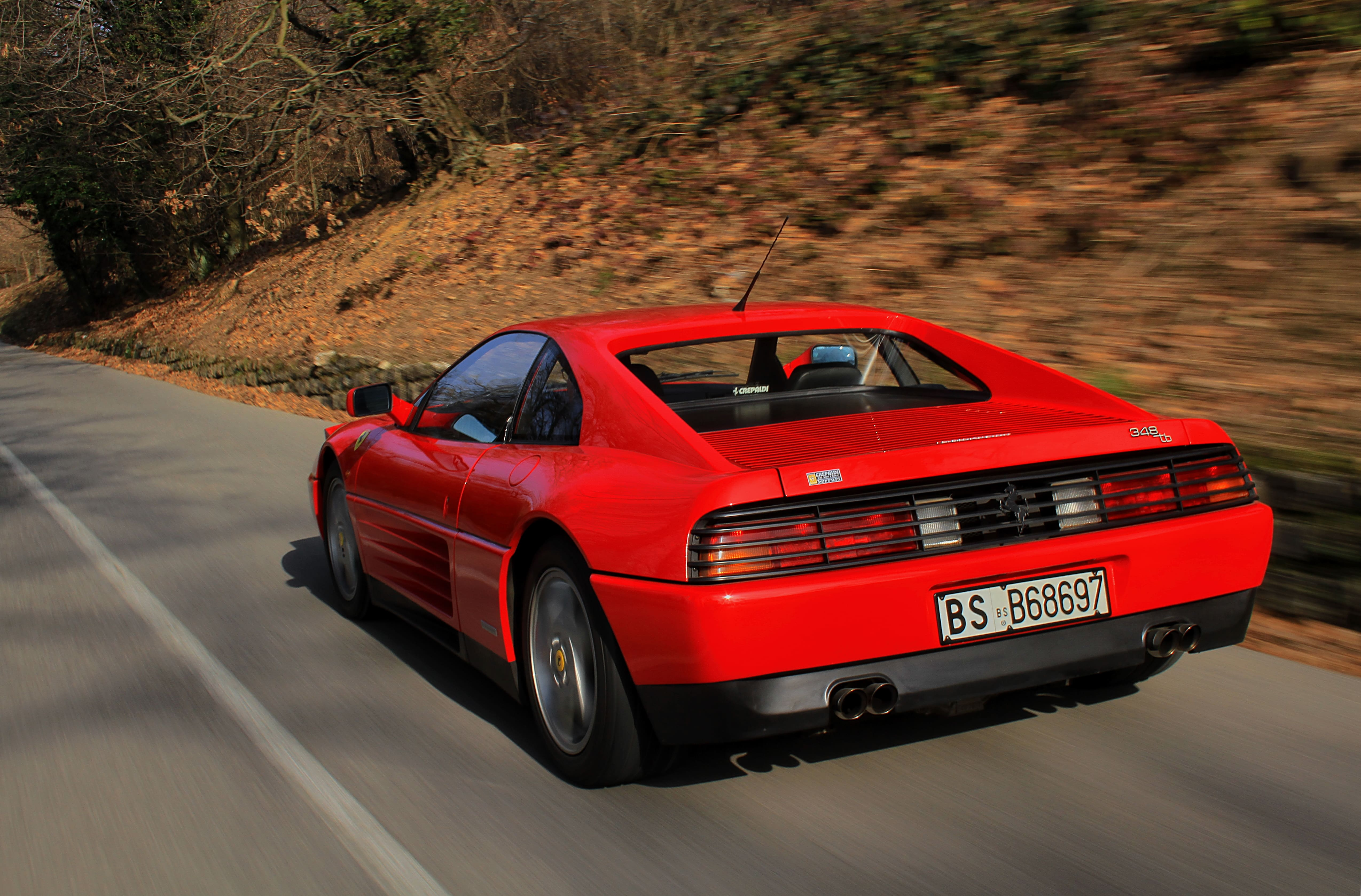 Ferrari 348 Tb 89 Ferrari Tommaso Motoring Writer And